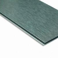 China Brushed Aluminum Composite Panel, Measuring 1, 220 x 2, 440mm on sale