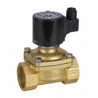 Quality Small Brass Gas Valve Solenoid Gas Safety Valve Simple Structure Low Voltage for sale