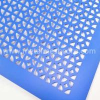 Buy cheap Slotted hole aluminum perforated metal mesh from wholesalers