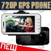 Quality 3.0 inch 3G phone with touch screen carcam hd car dvr (720p GPS/G-Sensor) for sale