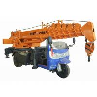 Quality Small Tricycle Mobile Truck Mounted Hydraulic Crane 3- 5 Ton For Construction for sale