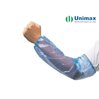 Quality 12 Micron PE CPE Disposable Arm Sleeve Hospital Use for sale