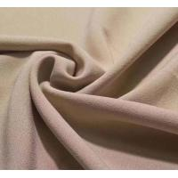 4 way stretch single side crepe lycra dress fabric 92/8 polyester lycra stretch one side brushed fleece design garment f