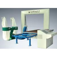 Quality Auto CNC Foam Contour Machine Cutter With Moving Table , Brake System for sale