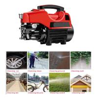 China Small Portable 1700w Electric Power Washer , High Pressure Home Depot Power Washer For Car on sale