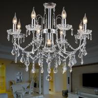 Quality Capodimonte chandelier metal material with lampshade for indoor home lighting fixtures (WH-MI-73) for sale