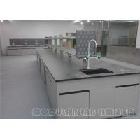 Science Lab Furniture , School Laboratory Furniture With Lab Stools
