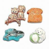 Quality Special Printed 3D Polyresin Magnets, Customized Designs are Accepted for sale
