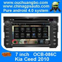 Quality Ouchuangbo Android 4.0 Car 3G Wifi GPS Navigation for Kia Ceed 2010 with S150 Radio Stereo USB RDS OCB-086C for sale