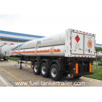 China 8 , 9 , 10 , 11 , 12 Tubes gas CNG Tank Trailer with 25Mpa 25.02 CBM on sale