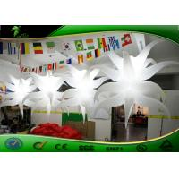 China Customized Inflatable Lighting Decoration / Inflatable Air Star Balloon For Party on sale
