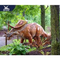 Buy cheap Mechanical Animatronic Outdoor Dinosaur Garden Statue Attractive For Exhibit from wholesalers