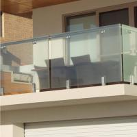 Quality High Quality Modern Design Stainless Steel and Glass Balcony Railings for sale