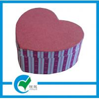 Quality Personalized  Handmade Heart Shaped Gift Cardboard Jewellery Boxes for sale