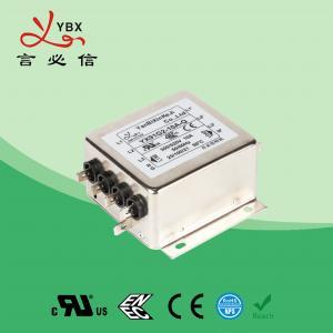 Quality Industrial 3A 440V Inverter EMI Filter / Three Phase EMI Filter for sale