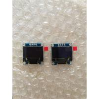 Quality LCD display 0,96mm Oled blue Yelow (4pin) for sale