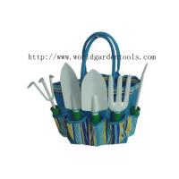Quality GardenTools setsLady's hobbies item spades forks pickaxes rakes watre can with blue bag for sale