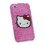 Quality Children Rhinestone hello kitty Cute customizable phone case for Samsung Galaxy I9300 for sale