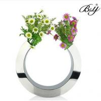 Quality customied metal C shaped flower vase for sale
