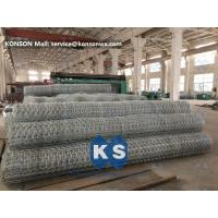 Quality Galvanized Wire Netting Gabion Mesh Machine For Chemical Engineering Industry for sale