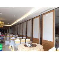 China Top Hanging System Acoustic Foldable Partition Wall Anodized Aluminum 6063-T5 Frame on sale
