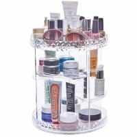 Buy cheap Plus size 360-degree rotating adjustable multi-function makeup storage organizer from wholesalers
