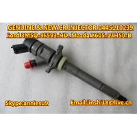 Quality Bosch Genuine Common Rail Injector 0445110239 for Ford 3M5Q-9F593-HD, Mazda Y605-13H50-B for sale