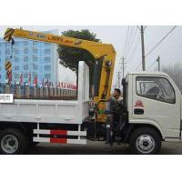 Quality XCMG 2T Hydraulic Arm  safety construction crane, Knuckle Boom Truck Crane for sale