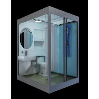 Buy all in one bathroom units Prefab Bathroom integrated bathroom suit/unit/room/cabin/set at wholesale prices