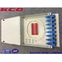 China KCO-FTB16D Fiber Optic Terminal Box 16 Ports For FTTH With SC/APC Adapter And Pigtail wholesale