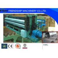 Quality 5m/min Metal Steel Culvert Pipe Making Machine Water Conservancy Project 1250mm Width for sale