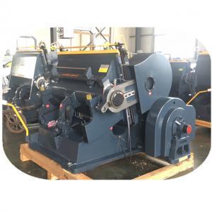 China ML -1100 Semi Automatic Carton Die Cutting Machine Punching For Cardboard on sale