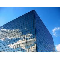 Quality Insulated Aluminum Curtain Wall / Frameless Curtain Wall Architecture for sale