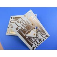 China Double Sided PCB Built On RO4350B 10mil With Immersion Gold for RF Amplifier on sale