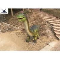 Quality Amusement Park Dinosaur Garden Decor Animatronic Brachiosaurus Display for sale
