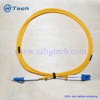 Buy cheap Fiber Optic Patch Cord LC Singlemode Duplex from wholesalers