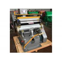 China Semi Automatic Paper Die Cutting Machine High Strength With Electrical System on sale