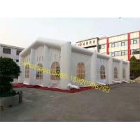 China giant outdoor church inflatable white inflatable wedding tent for sale on sale