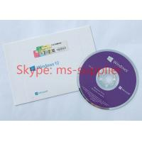 Quality Customized language Microsoft Win 10 Pro OEM Software 64bit  DVD + OEM key Activation Online for sale