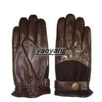 China High quality and durable mens sheepskin gloves YYLM013 on sale