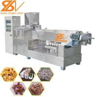 Quality Pet Chews Treat Food Extruder Machine Single Color DLG100  ISO Certification for sale