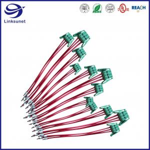 Quality LED Monitor Wiring Harness with 5.08mm 300V 2 - 24 Pin Connector for sale