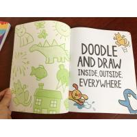 China Attractive Boys Colouring Book Printing For Kindergarten Reading Softcover on sale