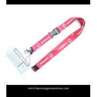 China Cheap Custom pink Lanyard print your logo No Minimum Order With Any Hook on sale