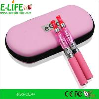 Quality Fashion e cigarette eGo ce4+ starter kits with heat from bottom colorful for choose for sale