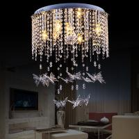 Quality Cheap modern crystal ceiling lights with Butterfly Crystal Lamp (WH-CA-43) for sale