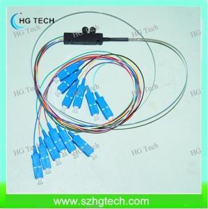 Quality Ribbon Flat SC/upc Fiber Pigtail for sale
