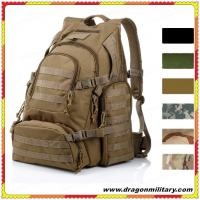 Quality 2017 hot sale big military backpack army hiking backpack tactical backpack for sale
