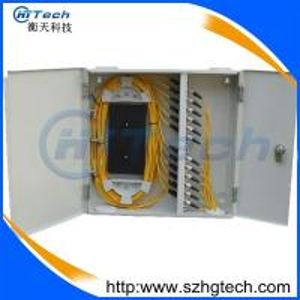 Quality 24Core Indoor SC Fiber Optic Distribution Box, Wall Mount Fiber Optic Terminal Box for sale