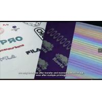 Quality TOP ONE Heat Transfer Materials Manufacturer-Digital films For Labels Heat Transfer Process for sale
